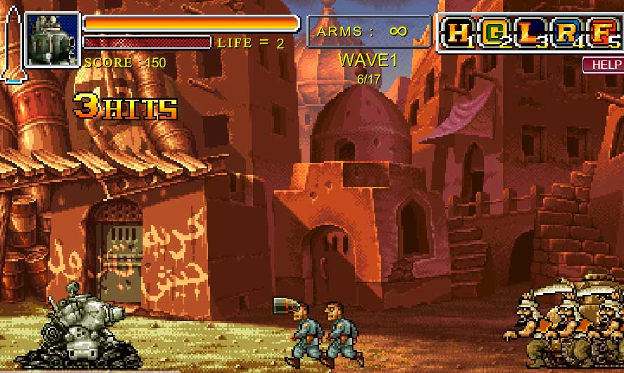 Metal Slug Death Defence