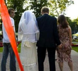 infidelidad de boda