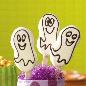 galletas de fantasmas