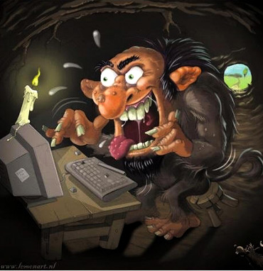 trolls internet