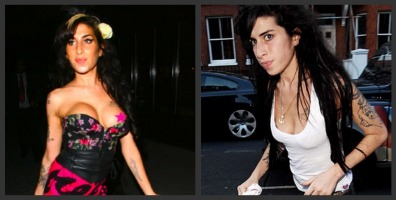Amy Winehouse senos
