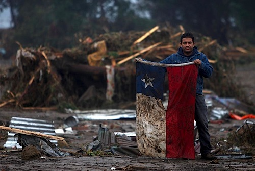 Los 10 últimos sismos más fuertes de Chile