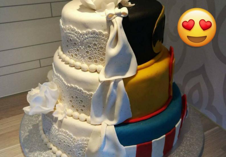 10 maneras SÚPER creativas para decorar tu pastel de bodas