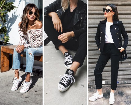 10 look demasiado cool con Converse