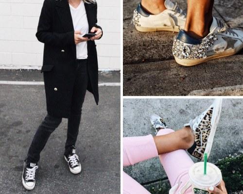 10 looks que son increíbles gracias a las zapatillas