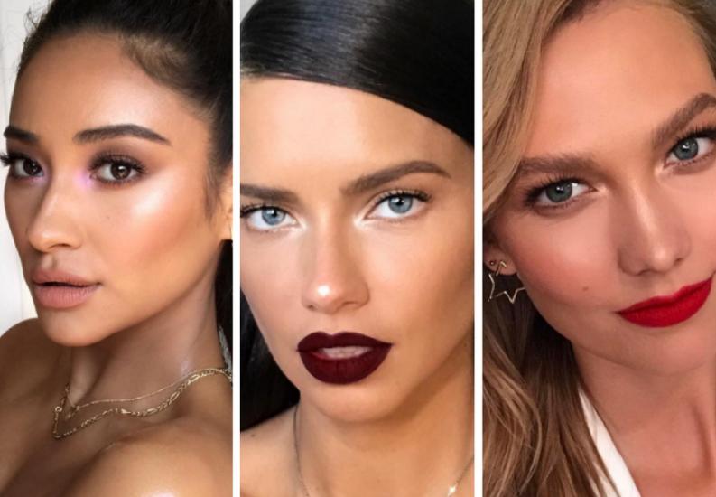 10 estrellas con una misma tendencia de maquillaje que te encantará