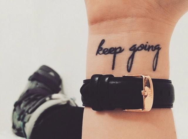 10 mini tattoos que te motivarán a seguir tus sueños